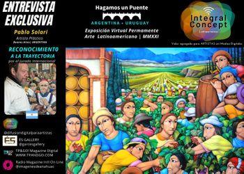 Arte Contemporáneo Argentina Reconocimiento a la Trayectoria a Pablo Solari