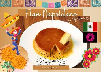 Receta Flan Napolitano de Mike • México