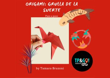 Tutorial Origami Paso a Paso Grulla de La Suerte