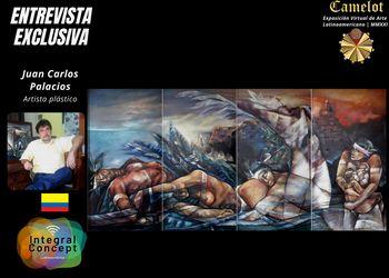 Artistas Plásticos Premiados en Latinoamérica 2021: Juan Carlos Palacios Hurtado