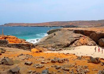 Parque Nacional de Arikok en Aruba