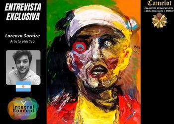 Artistas Plásticos Premiados en Latinoamérica 2021: Lorenzo Soraire