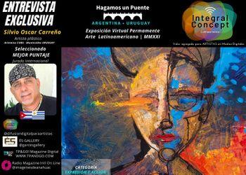 Arte Contemporáneo Cuba Uruguay Expo Virtual: Silvio Oscar Carreño