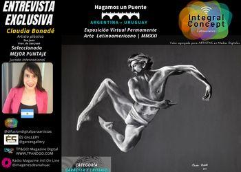 Arte Contemporáneo Expo Virtual: Claudia Bonadé