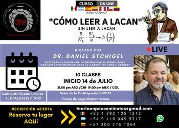 """Seminario: Cómo leer """"Cómo leer a Lacan"""" sin leer a Lacan"""