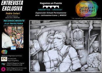Arte Contemporáneo Argentina  Pablo Solari: El Poeta del Color