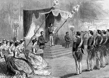Proclamacion deNueva Constitución Japonesa 1889