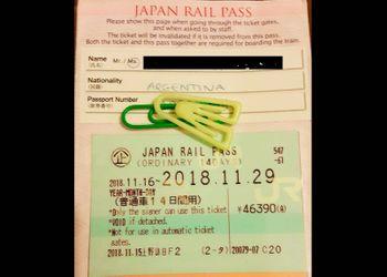 ¿Dónde y cuándo validar mi pase Japan Rail?
