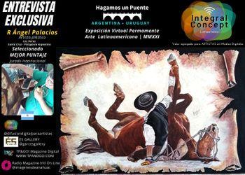 Arte Contemporáneo Expo Virtual: Ángel Palacios