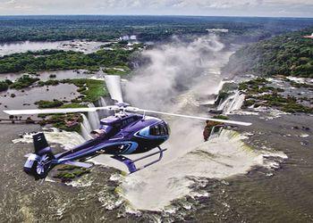 Excursión Sobrevuelo Helicóptero Cataratas del Iguazú: lado Brasilero
